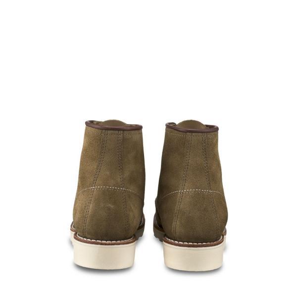レッドウィング RED WING レディース ブーツ シューズ・靴 6-Inch Moc Boot Olive Mohave Leather