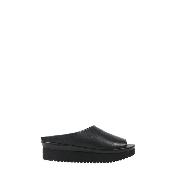 ラモールドピード L'AMOUR DES PIEDS レディース サンダル・ミュール シューズ・靴 Anuncia Slide Sandal Black Leather