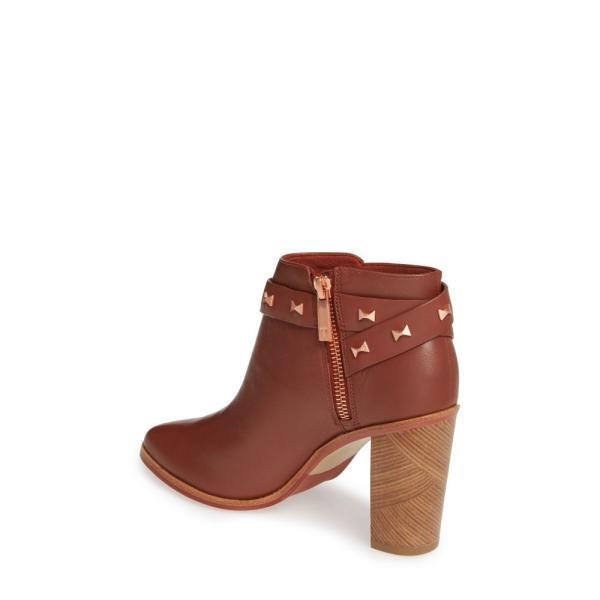 テッドベーカー TED BAKER LONDON レディース ブーツ シューズ・靴 Dotta Bow Belt Bootie Cocoa Leather