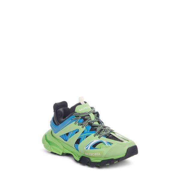 バレンシアガ BALENCIAGA レディース スニーカー シューズ・靴 Track Low Top Sneaker Blue/ Green