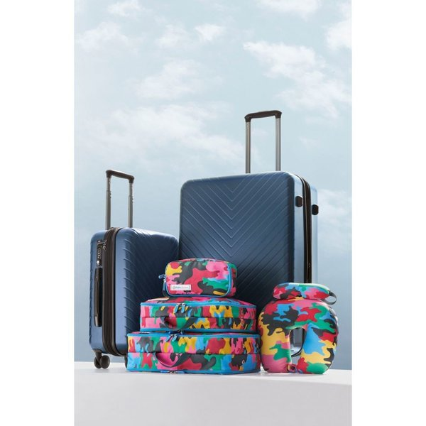 ノードストローム NORDSTROM メンズ スーツケース・キャリーバッグ バッグ Chevron 29-Inch & 18-Inch Spinner Luggage Set Black