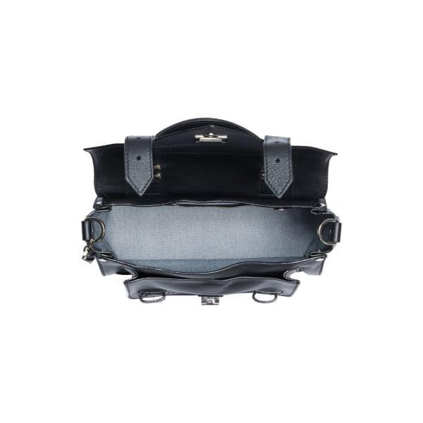 プロエンザ スクーラー PROENZA SCHOULER レディース ハンドバッグ バッグ Tiny PS1 Grainy Leather Satchel Black