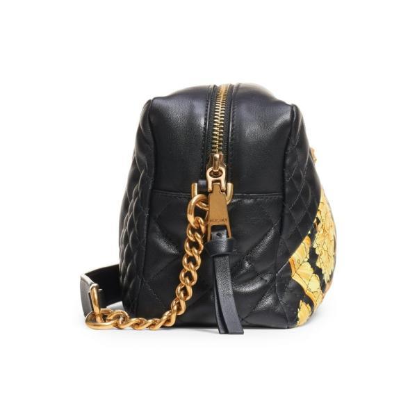 ヴェルサーチ VERSACE レディース バッグ Baroque Icon Quilted Leather Camera Bag Black Multi/ Tribute Gold