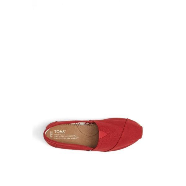 トムス TOMS レディース スリッポン・フラット シューズ・靴 Classic Canvas Slip-On