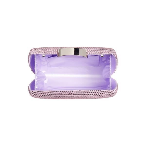 ニナ NINA レディース クラッチバッグ バッグ Pacey Crystal Minaudiere Light Amethyst
