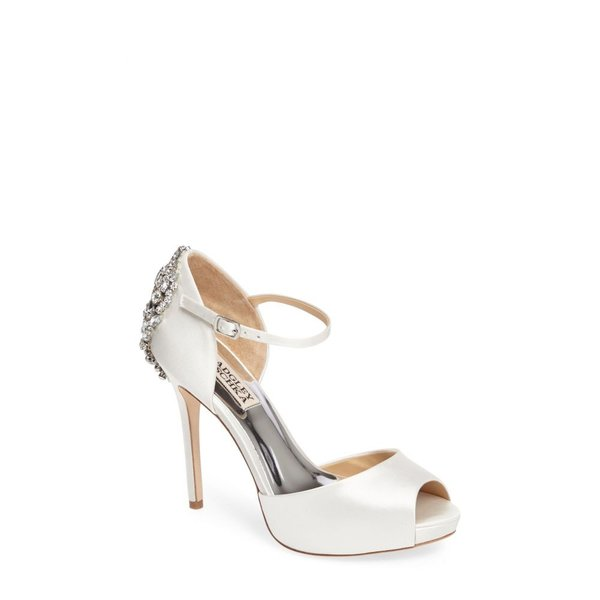 バッジェリー ミシュカ BADGLEY MISCHKA COLLECTION レディース パンプス シューズ・靴 Badgley Mischka 'Dawn' Crystal Back d'Orsay Pump