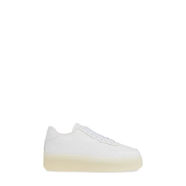 ジェフリー キャンベル JEFFREY CAMPBELL レディース スニーカー シューズ・靴 Court Sneaker White Patent Leather/ Clear