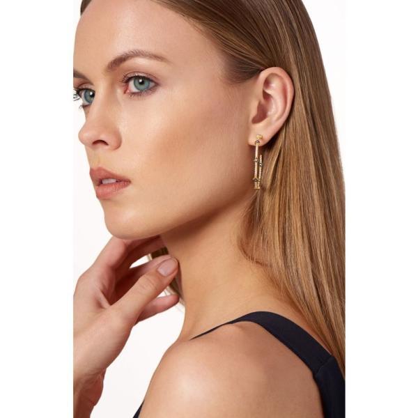 フリーダ ロスマン FREIDA ROTHMAN レディース イヤリング・ピアス ジュエリー・アクセサリー 'Metropolitan' Inside Out Hoop Earrings