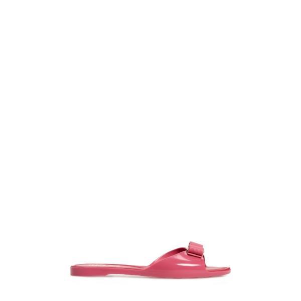 サルヴァトーレ フェラガモ SALVATORE FERRAGAMO レディース サンダル・ミュール シューズ・靴 Cirella Bow Slide Sandal