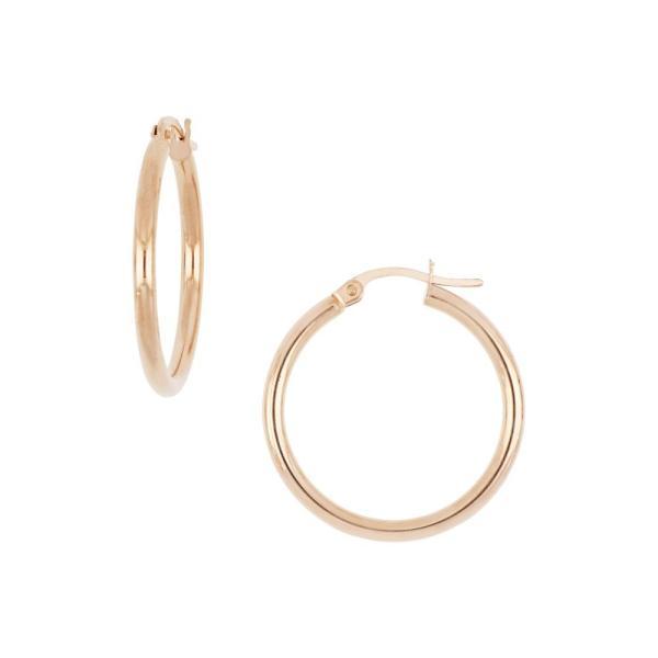 ボニー レヴィ BONY LEVY レディース イヤリング・ピアス ジュエリー・アクセサリー 14K Rose Gold Hoop Earrings