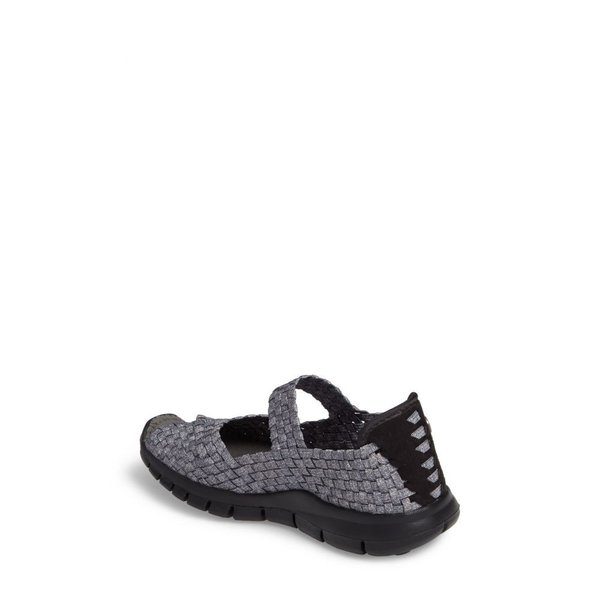 ベルニー メイヴ BERNIE MEV. レディース スリッポン・フラット シューズ・靴 'Comfi' Mary Jane Flat Heather Grey Fabric