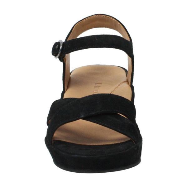 ラモールドピード L'AMOUR DES PIEDS レディース サンダル・ミュール シューズ・靴 Casimiro Sandal Black Suede