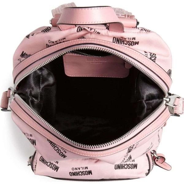 モスキーノ MOSCHINO レディース バックパック・リュック バッグ Small Logo Backpack