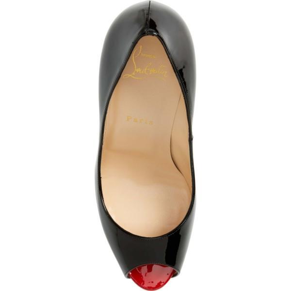 クリスチャン ルブタン CHRISTIAN LOUBOUTIN レディース パンプス シューズ・靴 'Prive' Open Toe Pump