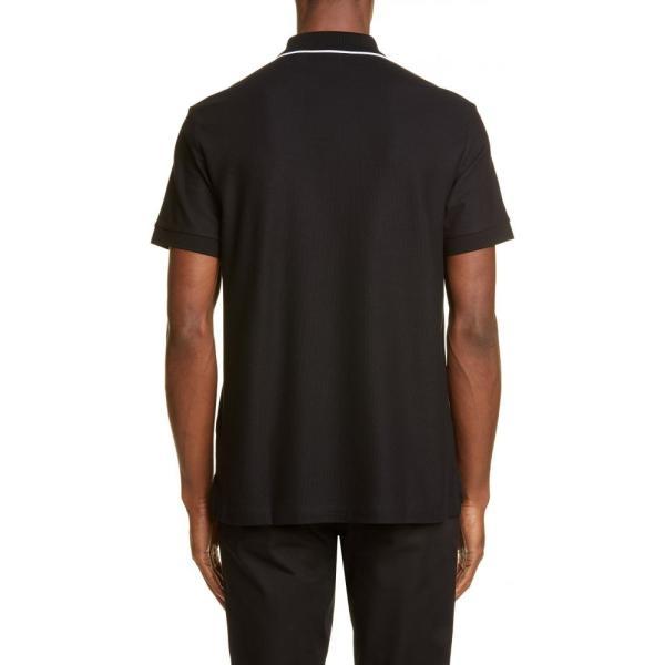 バーバリー BURBERRY メンズ ポロシャツ トップス Aiden Polo Black|ef-3|02