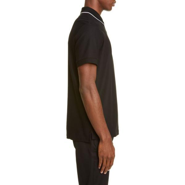 バーバリー BURBERRY メンズ ポロシャツ トップス Aiden Polo Black|ef-3|03