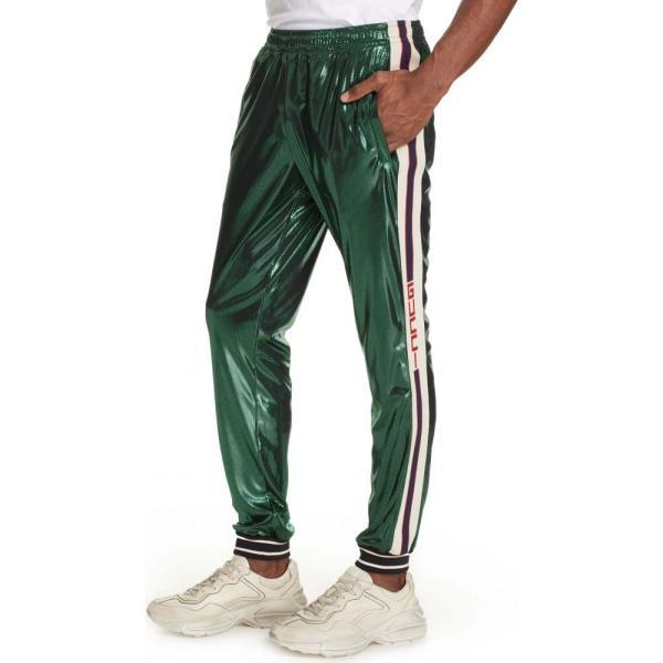 on sale 620c5 4585b グッチ GUCCI メンズ メンズ Shimmer Pants スウェット·ジャージ ...