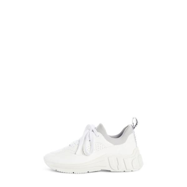 ミュウミュウ MIU MIU レディース スニーカー シューズ・靴 Logo Sole Sneaker White