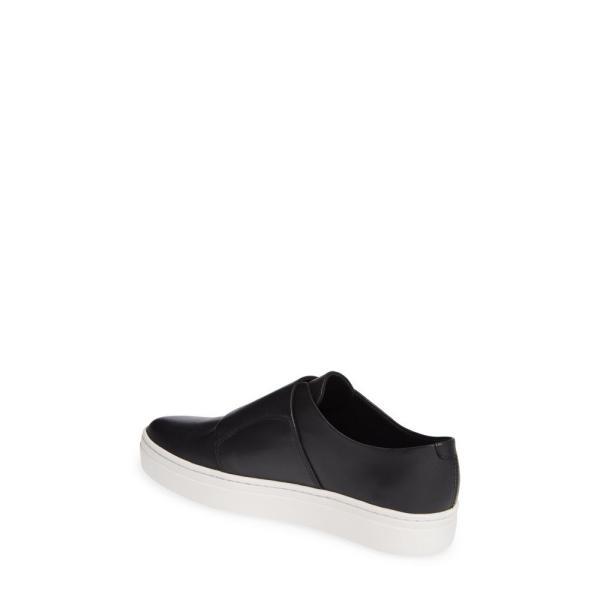 バガボンド VAGABOND レディース スリッポン・フラット シューズ・靴 Shoemakers Camille Slip-On Sneaker Black Leather