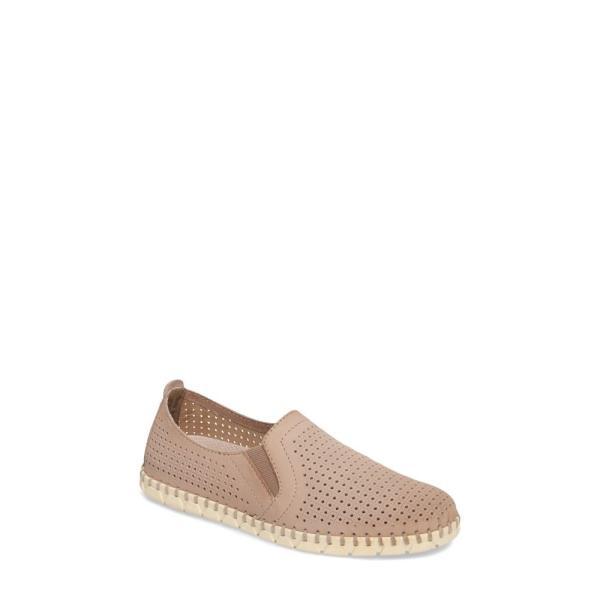 オーティービーティー OTBT レディース スリッポン・フラット シューズ・靴 Universe Slip-On Sneaker Cocoa Leather