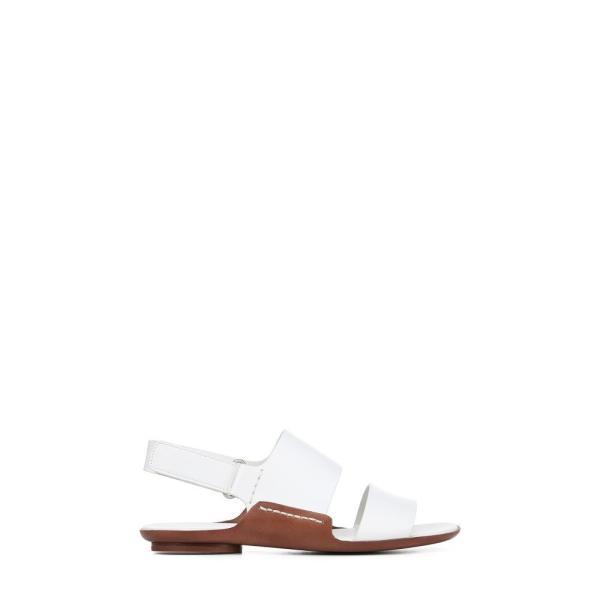 ヴィンス VINCE レディース サンダル・ミュール シューズ・靴 Telsa Flat Sandal White