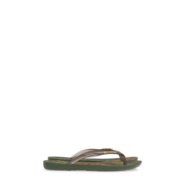 イパネマ IPANEMA レディース ビーチサンダル シューズ・靴 Wave Scenic Print Flip Flop Green/ Smoke