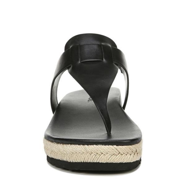 ヴィンス VINCE レディース エスパドリーユ シューズ・靴 Flint Espadrille Thong Sandal Black