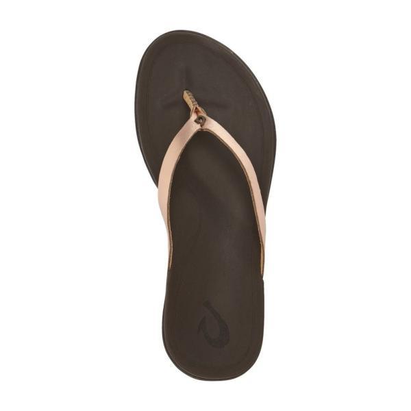 オルカイ OLUKAI レディース ビーチサンダル シューズ・靴 'Ho Opio' Leather Flip Flop