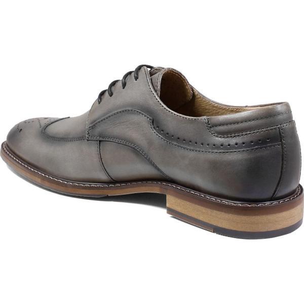 ステイシー アダムス STACY ADAMS メンズ 革靴・ビジネスシューズ ウイングチップ シューズ・靴 Fletcher Wingtip Gray ef-3 02