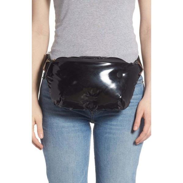 メゾン マルジェラ MAISON MARGIELA レディース ボディバッグ・ウエストポーチ バッグ Glam Slam Faux Leather Belt Bag Black