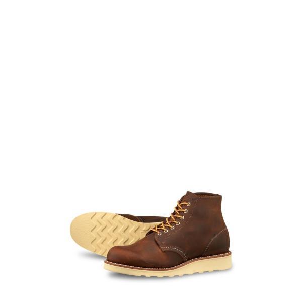 レッドウィング RED WING レディース ブーツ シューズ・靴 6-Inch Round Toe Boot Copper Rough Tough Leather