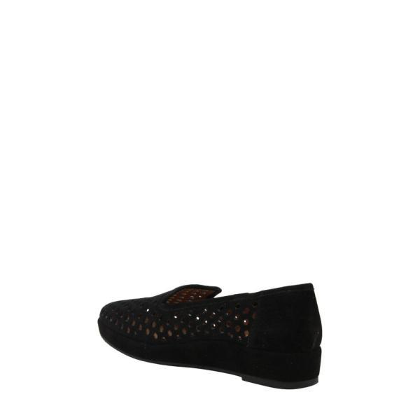 ラモールドピード L'AMOUR DES PIEDS レディース ローファー・オックスフォード シューズ・靴 Clemence Loafer Black Suede