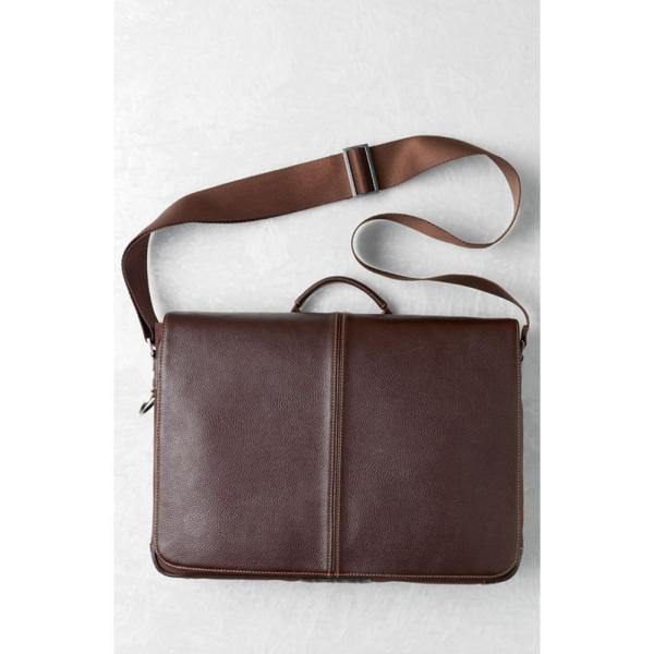 ボコーニ BOCONI メンズ パソコンバッグ バッグ Tyler Slim Leather Laptop Briefcase