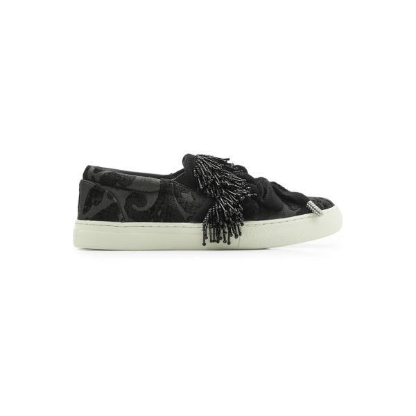 マーク ジェイコブス レディース スニーカー シューズ・靴 Mercer Pompom Embellished Sneakers black