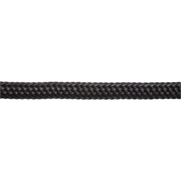 Black and Silver Ladies Plaited BELT 13mm Medium