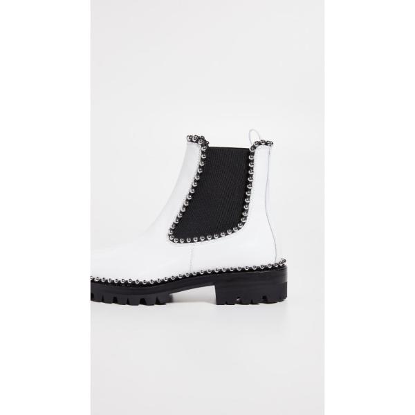 アレキサンダー ワン Alexander Wang レディース ブーツ シューズ・靴 Spencer Boots White