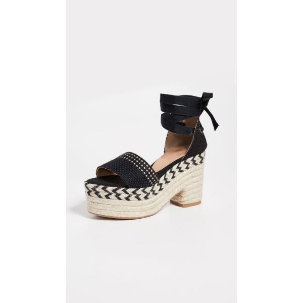 カスタネール Castaner レディース エスパドリーユ シューズ・靴 Xia Platform Espadrilles Black