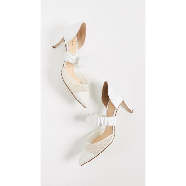 クロエ ゴセリン Chloe Gosselin レディース パンプス シューズ・靴 Lily 70 Lace Pumps White