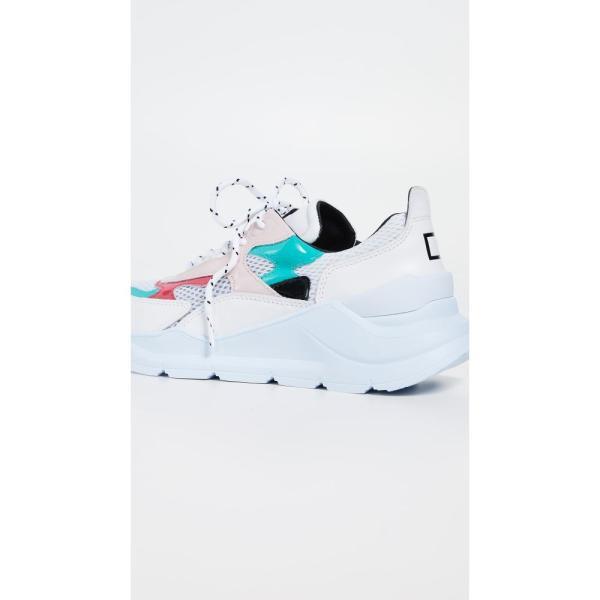 デイト D.A.T.E. レディース スニーカー シューズ・靴 New Fuga Sneakers Water/Pink