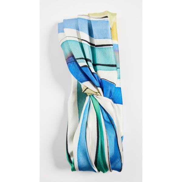 ユージニア キム Eugenia Kim レディース ヘアアクセサリー Malia Headband Green/Blue