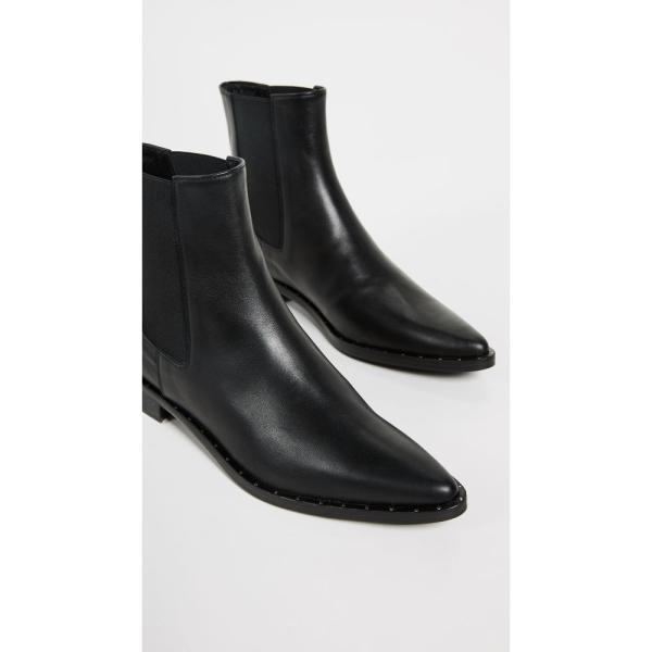 フリーダ サルバドール Freda Salvador レディース ブーツ シューズ・靴 Joan Pointed Toe Chelsea Boots Black