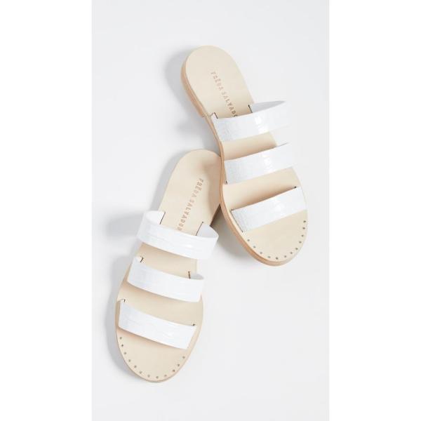 フリーダ サルバドール Freda Salvador レディース サンダル・ミュール シューズ・靴 Iris Strappy Sandals White