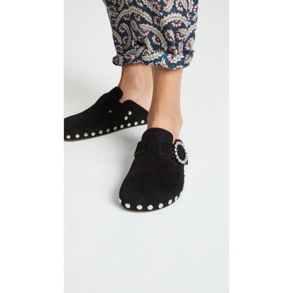 イザベル マラン Isabel Marant レディース スリッポン・フラット シューズ・靴 Mirvin Suede Flats Black