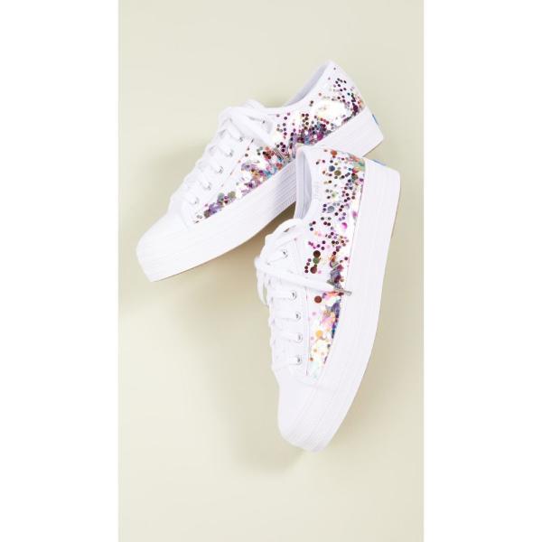 ケッズ Keds レディース スニーカー シューズ・靴 x Kate Spade New York Triple Kick Confetti Sneakers Confetti Multi