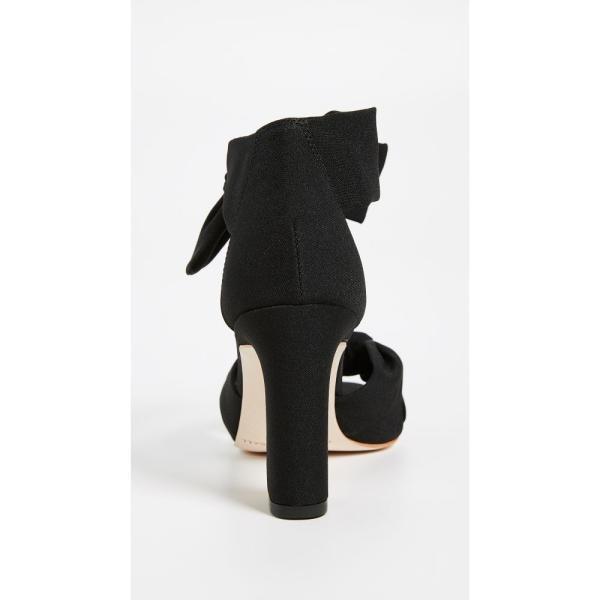 ロフラーランドール Loeffler Randall レディース サンダル・ミュール シューズ・靴 Nan Ankle Tie Sandals Black