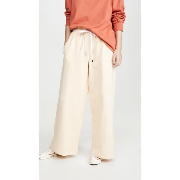 マルニ Marni レディース スウェット?ジャージ ボトムス?パンツ Sweatshirt Trousers Ivory|ef-3|01