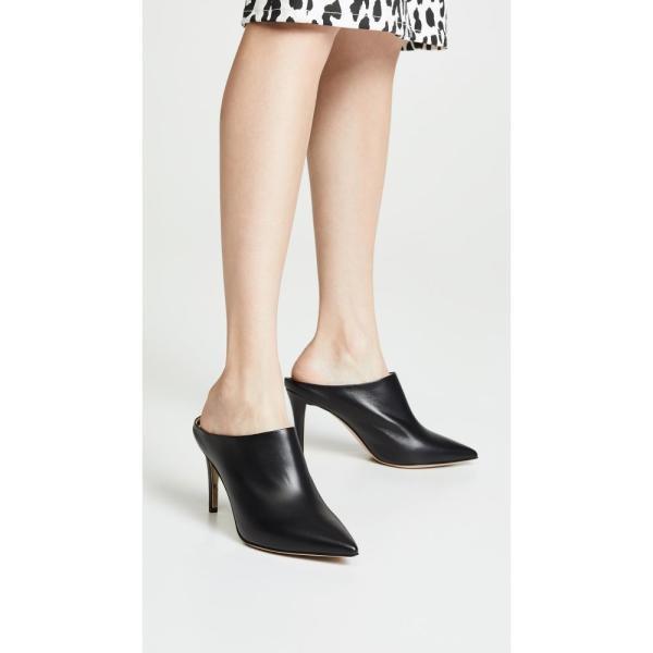 マリオンパーク Marion Parke レディース サンダル・ミュール シューズ・靴 Mona Point Toe Mules Black