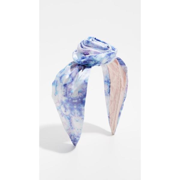 ナムジョシュ NAMJOSH レディース ヘアアクセサリー Tie Dye Bun Headband Lilac/Blue Tie Dye