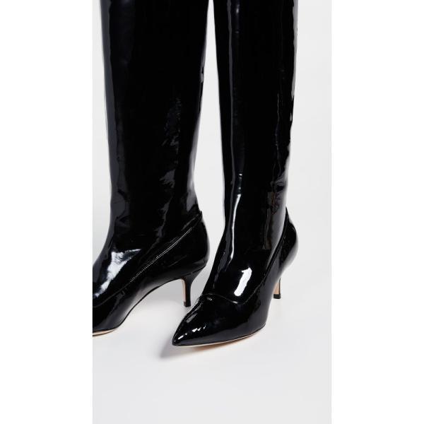 ポール アンドリュー Paul Andrew レディース ブーツ シューズ・靴 Nadia Patent Leather Boots Black