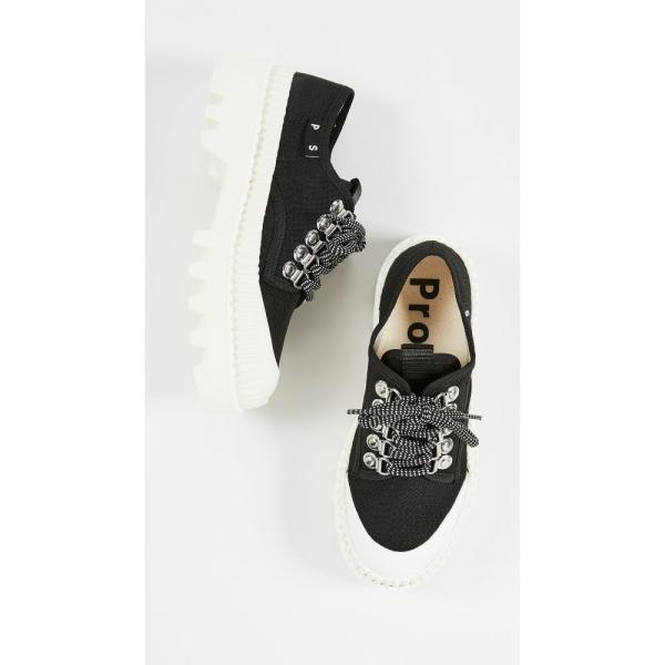 プロエンザ スクーラー Proenza Schouler レディース スニーカー シューズ・靴 Platform Sneakers Black/White